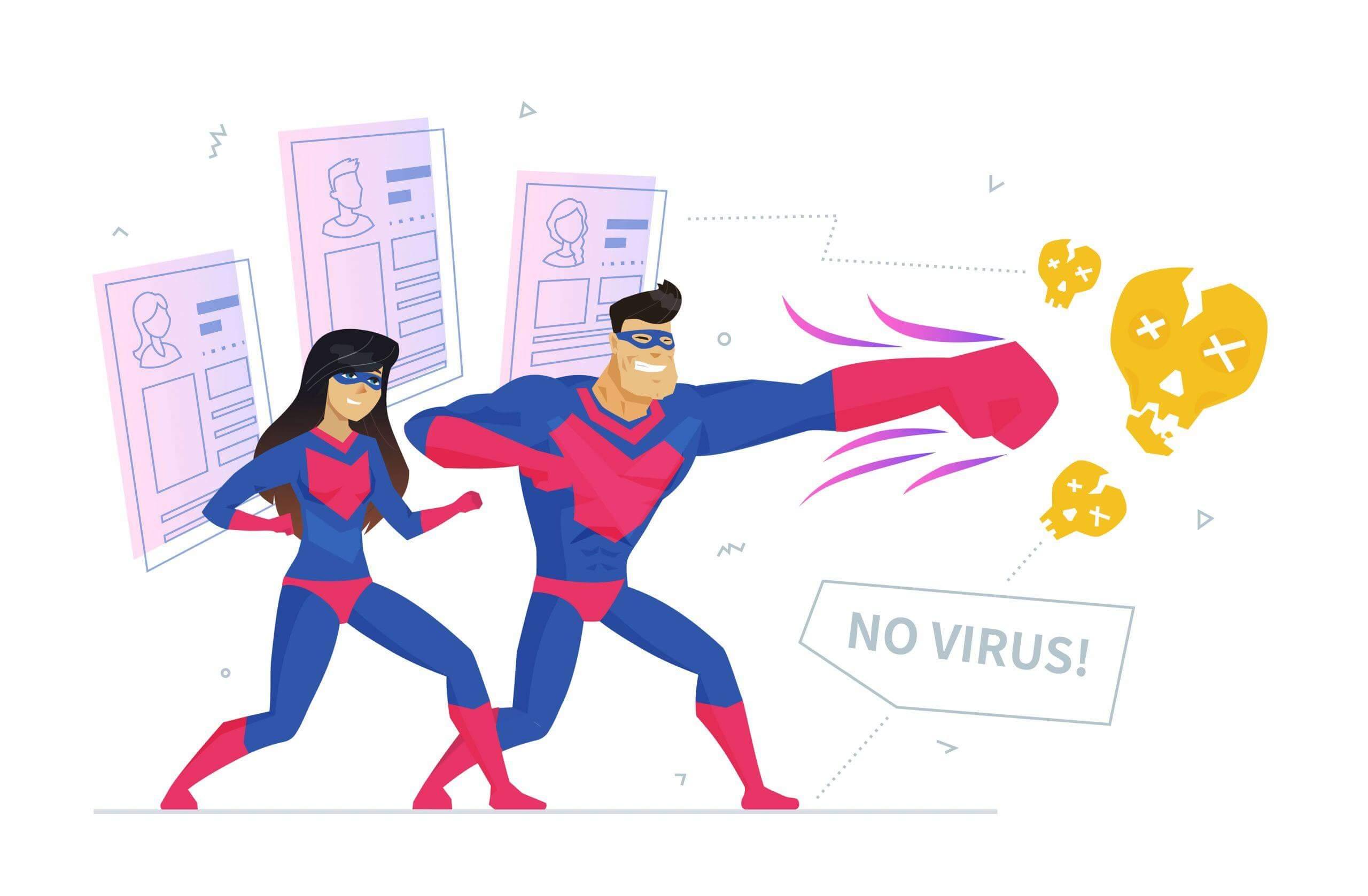 tips privacy beschermen superman en supervrouw