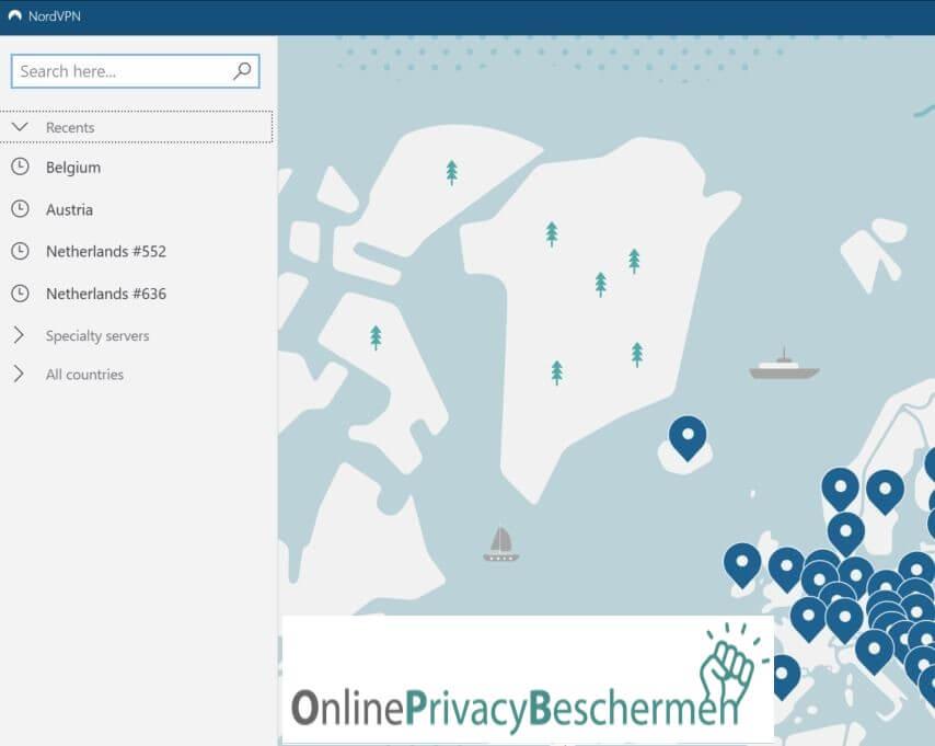 nordvpn-meest-recent-gebruikte-vpn-netwerken-online-privacy-beschermen